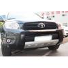 Накладка на передний бампер Toyota RAV4 2006-2009 (PRC, DS-RV-011)