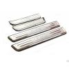 Накладки на внутренние пороги (4 шт.) для Hyundai IX35 2010-2013 (PRC, IX35100601)