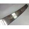 Накладка на задний бампер (хром) для Hyundai Santa FE 2010-2012 (PRC, STF100701)