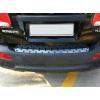 Накладка на задний бампер (хром) для Kia Sorento 2009-2012 (PRC, SRT101613)