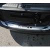 Накладка на задний бампер (хром) для Volkswagen Tiguan 2007-2010 (PRC, TG100701)