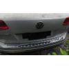 Накладка на задний бампер (хром) для Volkswagen Touareg 2010+ (PRC, TRG110701)