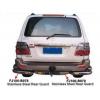 Фаркоп декоративный для Toyota Land Cruiser 100 1998+ (PRC, B079)