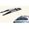 Алюминиевые рейлинги на крышу для Honda CRV 2007-2011 (PRC, C150547 Black)