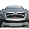 Хром накладки на решетку радиатора для Hyundai Santa FE 2010-2012 (PRC, STF101604)