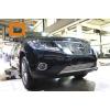 Решетка переднего бампера для Nissan Pathfinder 2014+ (Can-Otomotiv, NIPA.27.4054)