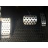 Накладки на педали для Volkswagen Touareg (АКПП) 2002+ (AVTM, A021010)