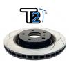 Передний тормозной диск (вентилируемый) (1шт.) Street Series - T2 Slot для HONDA Civic/Accord (D.B.A., DBA2500S)