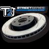 ЗАДНИЙ ТОРМОЗНОЙ ДИСК (ВЕНТИЛИРУЕМЫЙ) (1ШТ.) STREET SERIES - T2 SLOT ДЛЯ TOYOTA HIGHLANDER 2008+/LEXUS RX350 2009+ (D.B.A., DBA2735S)