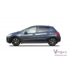 Дефлекторы окон (к-кт., 4 шт.) для Peugeot 308 2008+ (Vinguru, AFV23608)