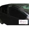 Дефлекторы окон (к-кт., 4 шт.) для Renault Logan II 2014+ (Vinguru, AFV55414)