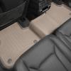 Коврик в салон (с бортиком, задний) для Audi Q7/Q8 2016+ (WeatherTech, 458872)