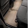 Коврик в салон (с бортиком, задние) для Toyota Fortuner 2006-2012 (WEATHERTECH, 451003)