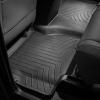 Коврик в салон (с бортиком, задние, без центр консоли) для Toyota Sequoia 2007-2012 (WEATHERTECH, 440934)