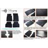 Коврики в салон (пер., 2 шт.) для Geely Emgrand (X7) 2013+ (Stingray, 1025062F)