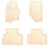 Коврики в салон (4 шт.) для Infiniti FX/QX70 (S51) 2008+ (Stingray, 2033014)