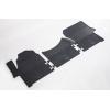 Коврики в салон (BUDGET, пер., 3 шт.) для Mercedes Sprinter/ VW Crafter 2006+ (Stingray, b1012033)