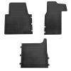 Коврики в салон (BUDGET, пер., 3 шт.) для Renault Master III/ Opel Movano II 2011+ (Stingray, b1018063)