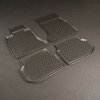 Kоврики в салон (к-кт. 4шт) для BMW 5 (F10,F11) 2010-2013 (NorPlast, NPL-Po-07-30)