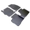 Kоврики в салон (к-кт. 4шт) для Citroen C-Elysee (D)/Peugeot 301 2012+ (NorPlast, NPA11-C14-450)