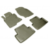 Kоврики в салон (к-кт., 4шт) для Infiniti ЕX/QX50 (J50) 2008+ (NorPlast, NPL-Po-33-60B)