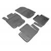 Kоврики в салон (к-кт., 4шт) для Mercedes GL-class (X166)/M-class (W166) 2012+ (NorPlast, NPA10-C56-500)