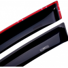 Дефлекторы окон для Citroen C5 SD 2008+ (HIC, CIT16)
