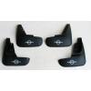 Брызговики (к-кт, 4шт.) для Nissan Tiida (5D) HB 2005+ (ASP, BNSTD5H21)