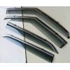 Дефлекторы окон (с молдингом из нерж. стали) для Hyundai Creta/IX25 2014+ (ASP, BHYI251423-W/S)