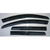 Дефлекторы окон для Nissan Qashqai (J10/Mk1) 2008-2013 (ASP, BNSQS0823)