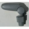 Подлокотник (серый, виниловый) для Chevrolet Aveo (T250) 2005-2011 (ASP, BCVLV6H20-G)