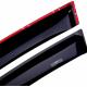 Дефлекторы окон для Mercedes GLK-klasse (X204) 2009+ (HIC, MB30)
