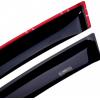 Дефлекторы окон для Peugeot 408 SD 2010+ (HIC, PEU22)