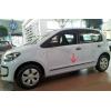Молдинги на двери для Seat Mii (5D) HB 2012+ (Automotiva, AT.STMIHB12.F43)