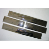 Накладки на пороги для Mitsubishi ASX 2009+ (ASP, BMTJX1312)