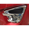 Накладки на передние противотуманные фары для Mazda CX-5 2015+ (ASP, BMDC5154-F)