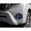 Накладки на передние противотуманные фары для Toyota LC Prado 150 2014+ (ASP, BTYPD144-F)