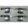 Хром накладки под дверные ручки (мыльницы) для Toyota Highlander (XU50) 2014+ (ASP, BTYHL1510)