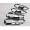 Хром накладки под дверные ручки (мыльницы) для Toyota LC Prado 150 2014+ (ASP, BTYPD1410)