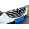 Накладки на решетку радиатора для Mazda CX-5 2015+ (ASP, BMDC5155)