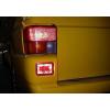 Задние светодиодные противотуманные фонари для Volkswagen Transporter/T4 1991-2003 (JUNYAN, 60-1432R)