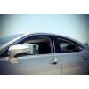 Дефлекторы окон (с молдингом) для Lexus ES 2013+ (AVTM, LEES2013)