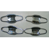Хром накладки под дверные ручки (мыльницы) для Toyota Highlander (XU50) 2015+ (ASP, JMTTH14IDHC)