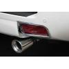 Накладки на задние противотуманные фары для Toyota Land Cruiser Prado 150 2014+ (ASP, JMTTP150RFLC)