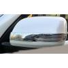 Хром накладки на зеркала для Toyota Land Cruiser Prado 150 2014+ (ASP, JMTTP150MCS)
