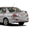 Спойлер крышки багажника для Mitsubishi Lancer 2003-2007 (AVTM, QS004696A)