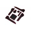 СИЛИКОНОВЫЕ ВСТАВКИ В САЛОН ДЛЯ AUDI A4 (B8) 2008-2012 (BGT-PRO, PADS-AU-A4-B8-2008-R)