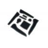 СИЛИКОНОВЫЕ ВСТАВКИ В САЛОН ДЛЯ AUDI A4 (B8) 2012-2015 (BGT-PRO, PADS-AU-A4-B8-2012-W)
