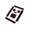 СИЛИКОНОВЫЕ ВСТАВКИ В САЛОН ДЛЯ AUDI A6 (C6) 2005-2011 (BGT-PRO, PADS-AU-A6-C6-R)