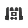 СИЛИКОНОВЫЕ ВСТАВКИ В САЛОН ДЛЯ AUDI Q3 2013-2016 (BGT-PRO, PADS-AU-Q3-T1-W)